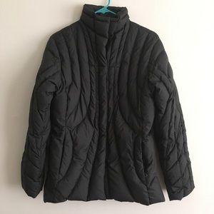 Patagonia black goosedown puffer coat jacket